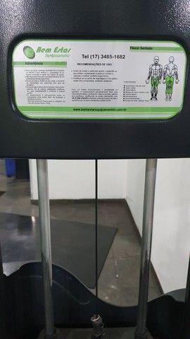 Cadeira Flexora 110 kg - Foto 3