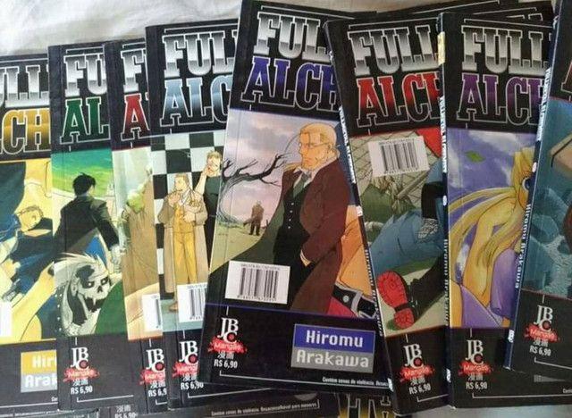 Mangás Fullmetal Alchemist de 1 ao 23 + número 42 - Foto 5