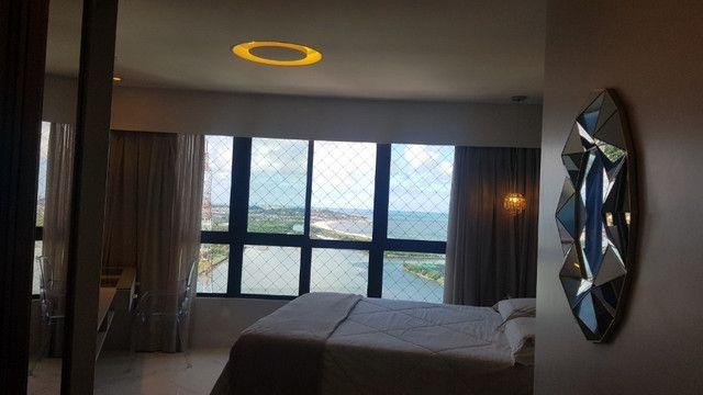 Dj- Apartamento andar alto com moveis fixos e planejados de luxo no Ed Jardim da Aurora - Foto 5