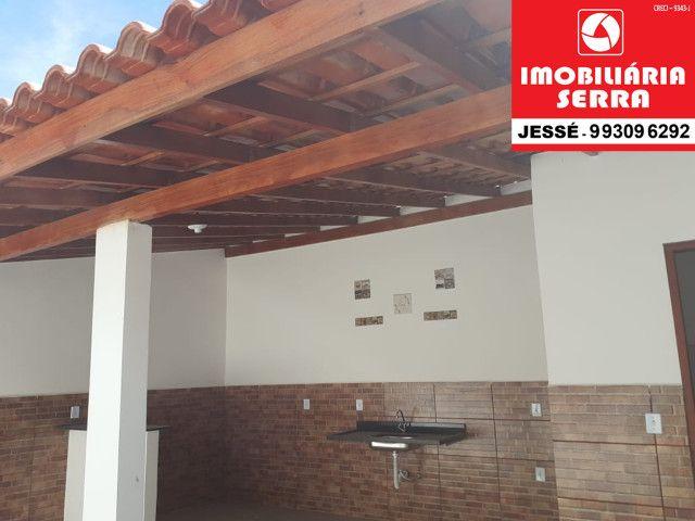 JES 065. Vendo casa nova em Residencial Centro da Serra com 70M² - Foto 8