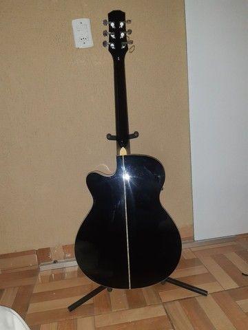 Vendo violão profissional PHX-188EQ  - Foto 6