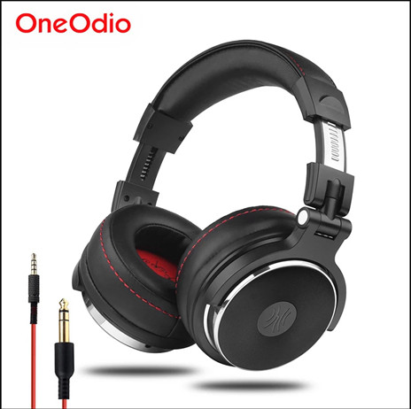 Fone Oneodio com fio profissional estúdio pro dj