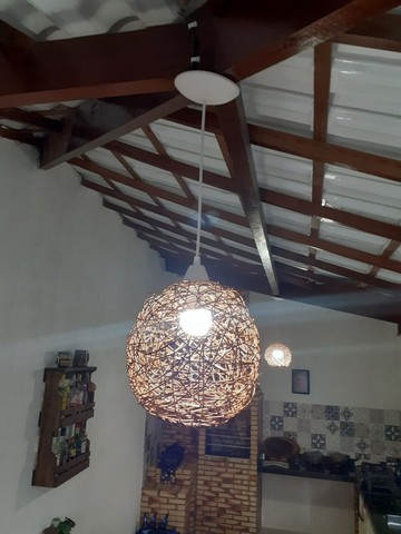 Luminária artesanal. - Foto 4
