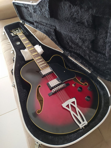 Guitarra Semi-acustica Ibanez AF75 + Case