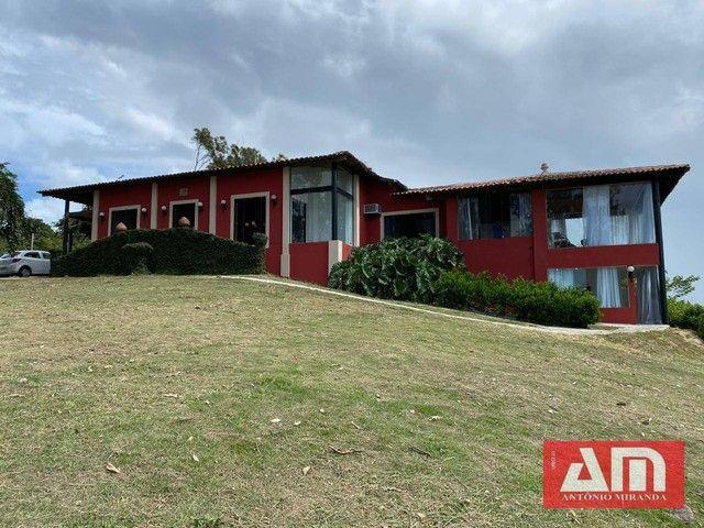 Casa com 5 dormitórios à venda, 390 m² por R$ 1.300.000,00 - Alpes Suiços - Gravatá/PE
