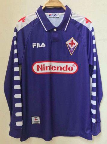 Camisa FIORENTINA 98/99 original Nintendo - Foto 3