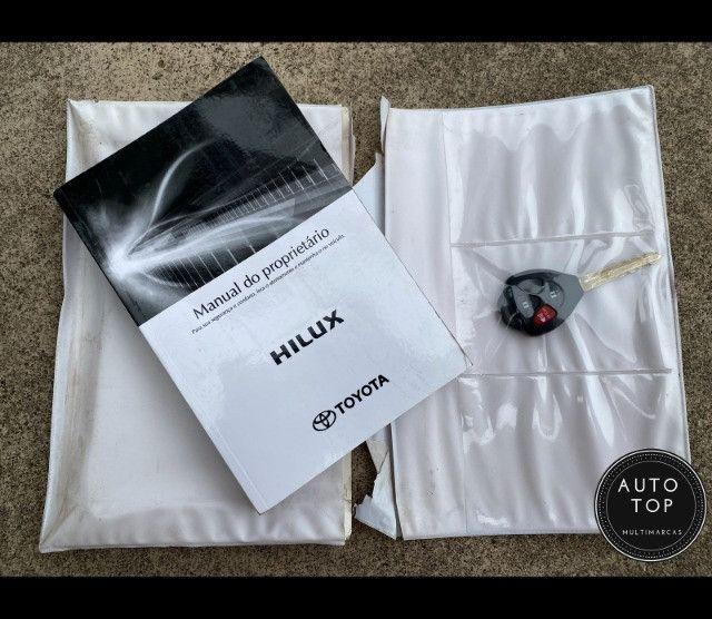 Hilux cd SRV 4x4 2.7 flex aut. 2012 *top*imperdível*financio em até 48x - Foto 6