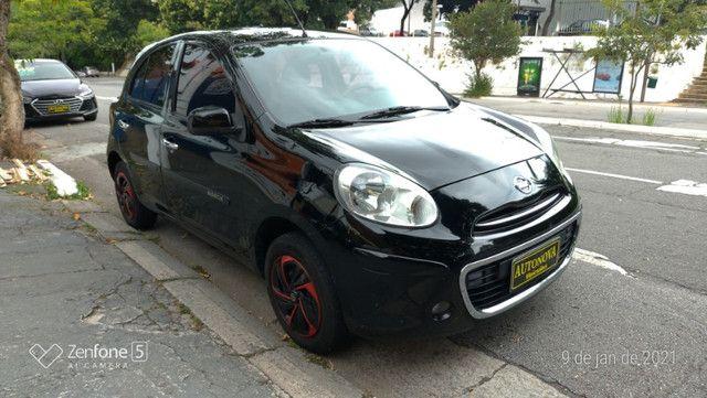 Nissan March 1.0 S Flex Revisado Kit Mult. Novo !! - Foto 7