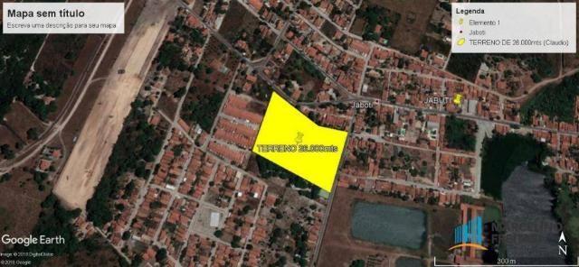 Terreno à venda, 25462 m² por R$ 3.819.000,00 - Jabuti - Itaitinga/CE