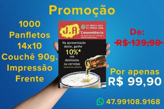 Panfleto 14x10 Promoção