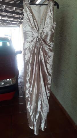 Vestido sereia no paetê bordado - Foto 5