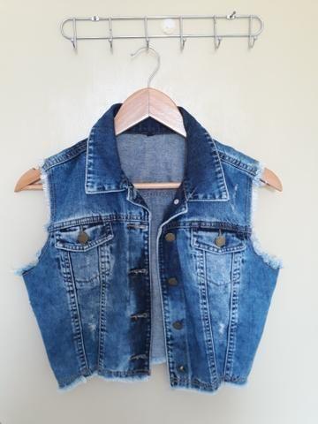 Colete jeans - Roupas e calçados - Serraria ddb2c85e9e5