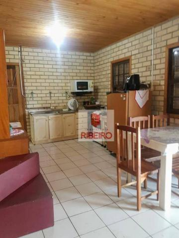 Casa com 3 dormitórios à venda, 103 m² por R$ 155.000, 350 metros do Mar - Zona Nova Norte - Foto 10