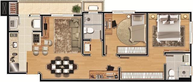 Apartamento à venda com 2 dormitórios em América, Joinville cod:8810 - Foto 8