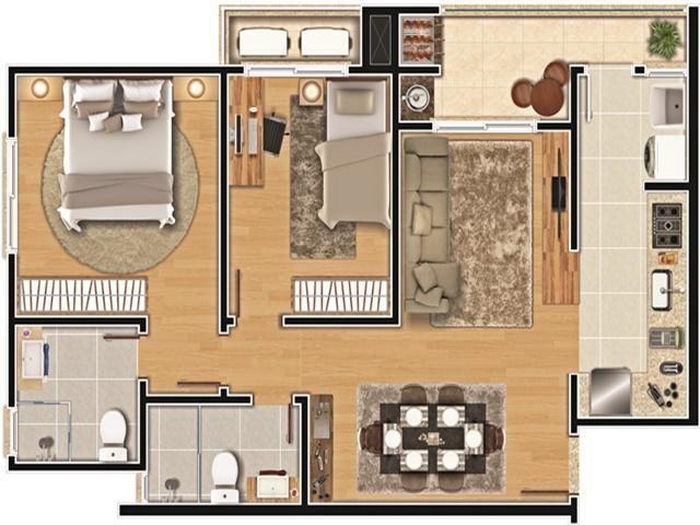 Apartamento à venda com 2 dormitórios em América, Joinville cod:8810 - Foto 13