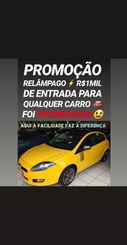 Showroom! R$1MIL DE ENTRADA(BRAVO SPORTING 2013 COM TETO SOLAR)