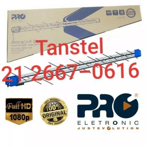 Antena Pq45-1300 Digital 38 Elementos 5 unidades Proeletronic com Suporte - Foto 3