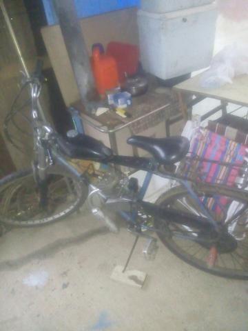 Bicicleta de motor 80cc bem forte