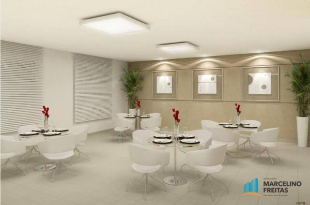 Apartamento residencial à venda, Manoel Dias Branco, Fortaleza. - Foto 6