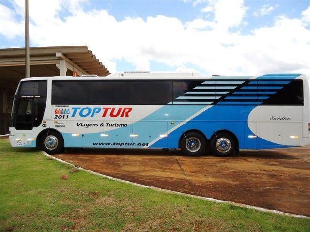 Ônibus Busscar Jum Buss 360 - Volvo B10m 6x2 - Executivo 46 Passageiros - Foto 5