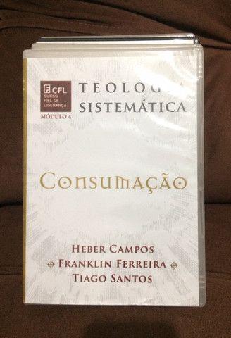 Coleção de dvd?s de estudos teologia sistemática (editora fiel) - Foto 4