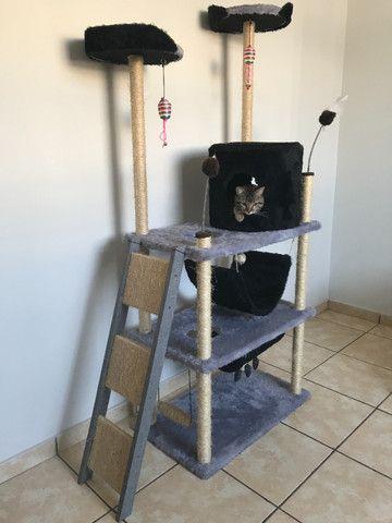 Brinquedo Arranhador Castelo Torre para Gatos - Foto 3