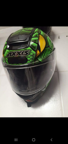 Axxis snake green SO VENDA  - Foto 2