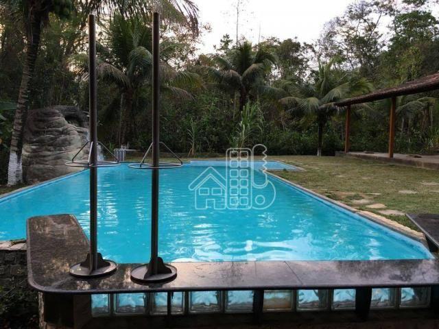 Sítio com 5 dormitórios à venda, 3008 m² por R$ 900.000,00 - Itaocaia Valley (Itaipuaçu) -