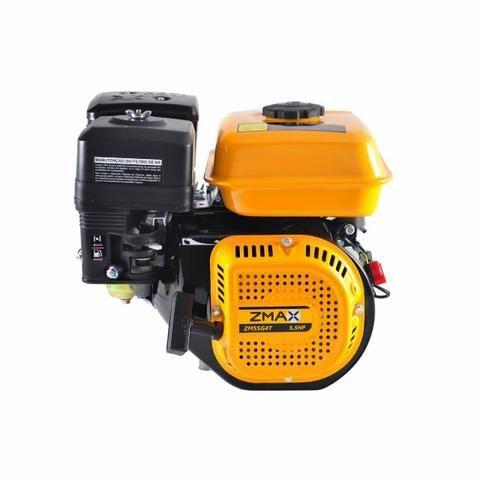 Motor a gasolina 5,5hp partida manual - Zmax - Foto 3