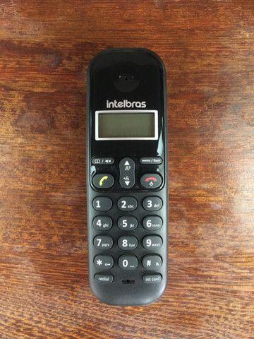 Telefone Sem Fio Intelbras Ts 3110 Preto - Frete Grátis