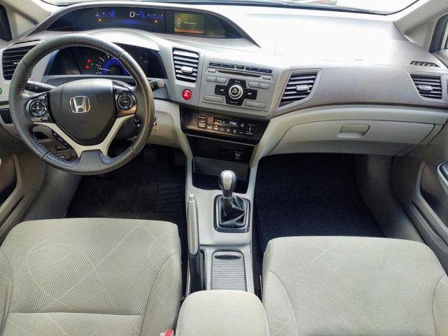Honda Civic 1.8 Lxs 16v Flex Manual - Foto 7