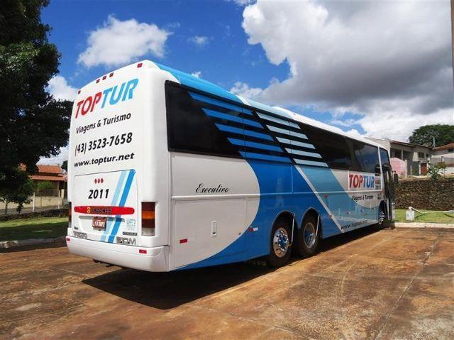 Ônibus Busscar Jum Buss 360 - Volvo B10m 6x2 - Executivo 46 Passageiros - Foto 7