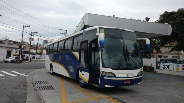 Ônibus Volkswagen 17.260 LO 4x2 - Busscar Vissta Buss HI 46 Passageiros - Foto 6