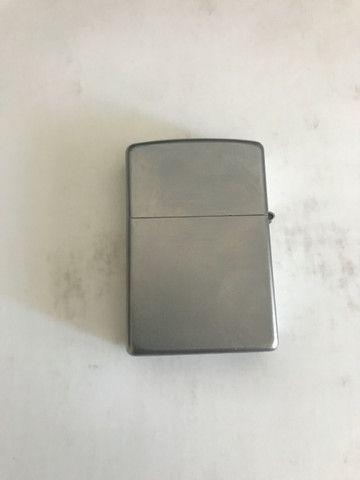 Zippo Original em aço escovado novinho