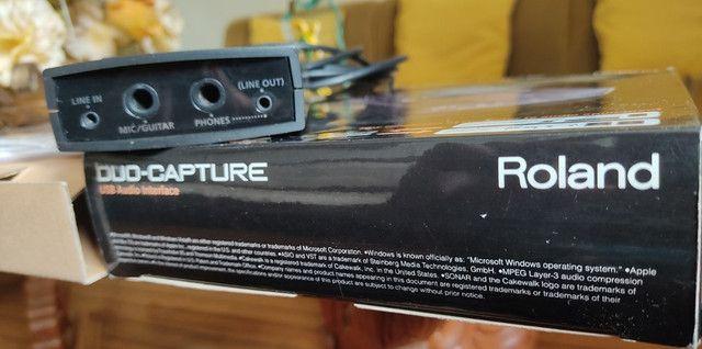 Interface de áudio Roland Capture Duo - Foto 2