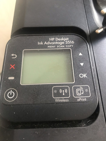Vendo impressora HP Deskjet Ink Advantage 3516 e-All-in-One - Foto 2
