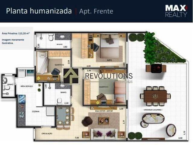Apartamento à venda com 3 dormitórios cod:R31142 - Foto 2