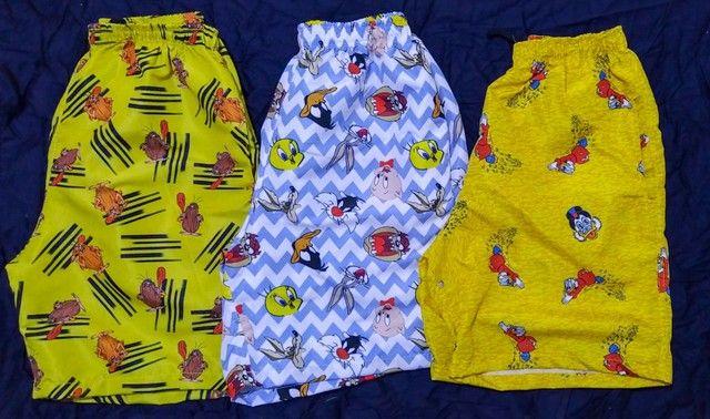 Shorts Tactel Sublimada Masculinos - Foto 3