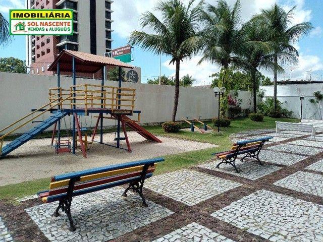 Apartamento com 3 dormitórios para alugar, 129 m² por R$ 1.600,00/mês - Guararapes - Forta - Foto 2
