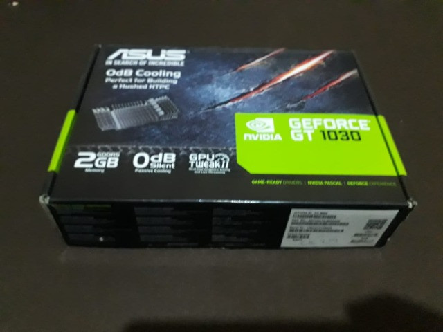Placa gráfica Asus GeForce ® Gt 1030 2GB gddrR5