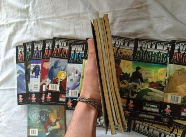 Mangás Fullmetal Alchemist de 1 ao 23 + número 42 - Foto 4