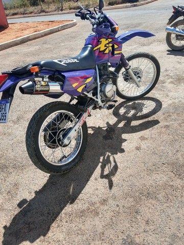 XR 200 moto pra coleção nada pra fazer filé toda  - Foto 6
