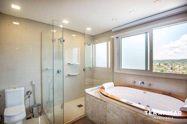 Apartamento com 3 dormitórios para alugar, 229 m² por R$ 10.000/mês - Centro - Novo Hambur - Foto 16