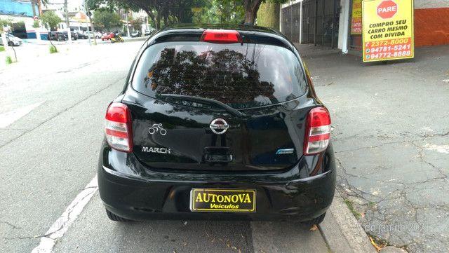 Nissan March 1.0 S Flex Revisado Kit Mult. Novo !! - Foto 6