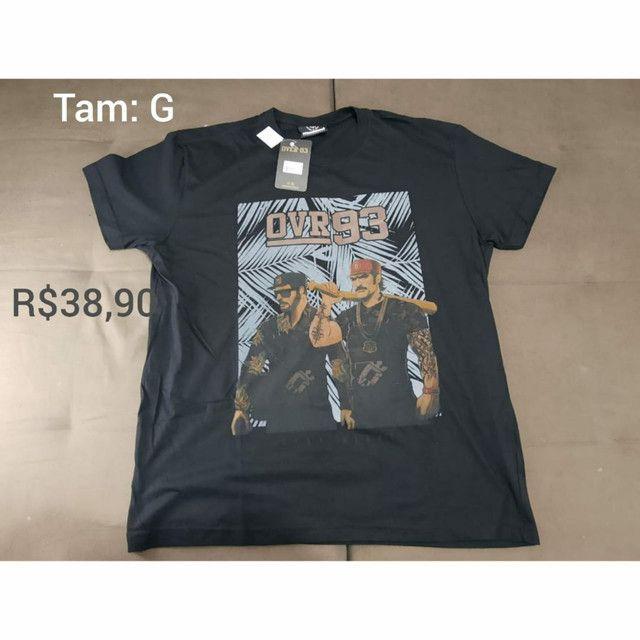 Camisetas Novas - Foto 3