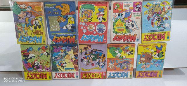 Gibis Mickey coleção editora abril 175 revistas em quadrinhos - Foto 6