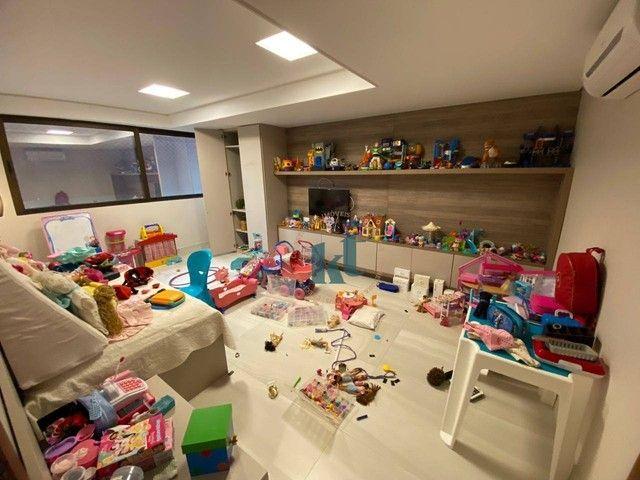 Casa com 4 dormitórios à venda, 538 m² por R$ 3.500.000,00 - Portal do Sol - João Pessoa/P - Foto 20
