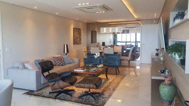 Dj- Apartamento andar alto com moveis fixos e planejados de luxo no Ed Jardim da Aurora - Foto 3
