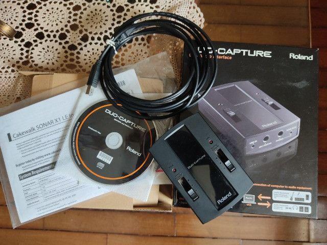 Interface de áudio Roland Capture Duo