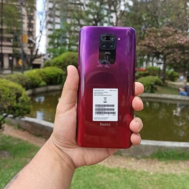 Xiaomi Redmi Note 9 128Gb/4gb 1 Ano De Garantia Cor Verde/Cinza/Branco/Vermelho/Preto